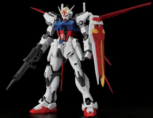 MG Aile Strike Gundam Ver. RM Construction Manual & Color Guide