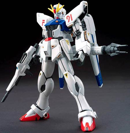 HG Gundam F91 Construction Manual & Color Guide