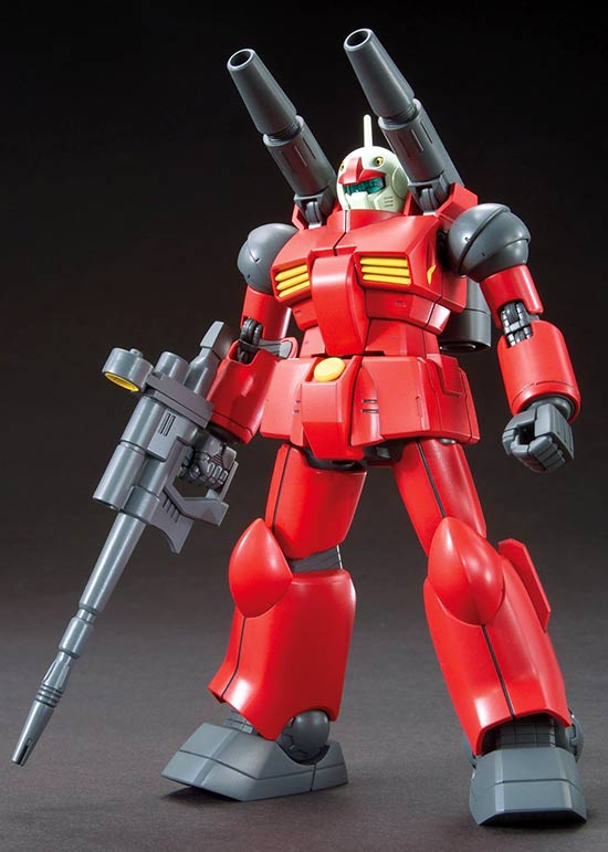 HG Guncannon Construction Manual & Color Guide