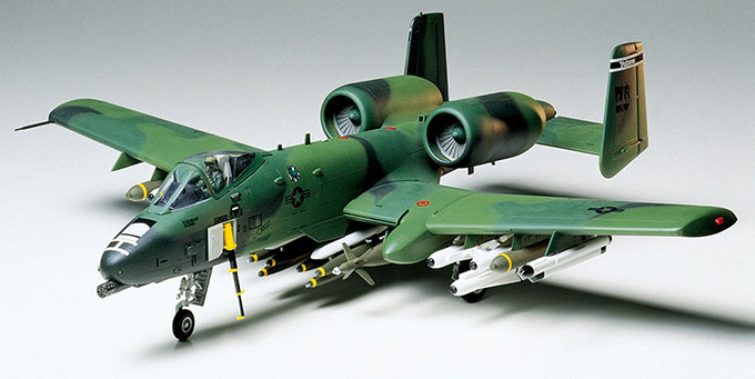 Tamiya 1/48 A-10 Thunderbolt II English Color Guide & Paint Conversion Fairchild Republic