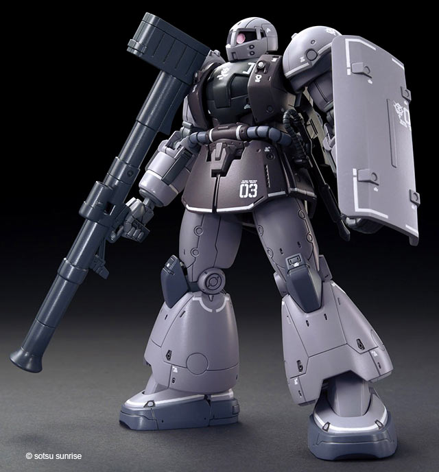 HG Waff English Manual & Color Guide (Gundam The Origin) High Grade Bandai