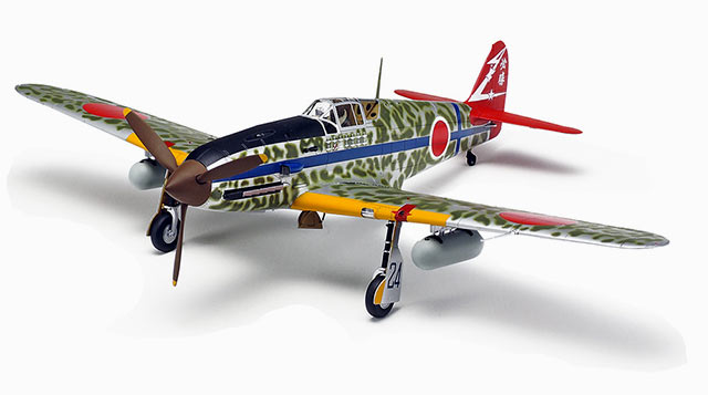 1/48 Tamiya Kawasaki Ki-61-Id Hien (Tony) English Color Guide & Paint Conversion Aircraft