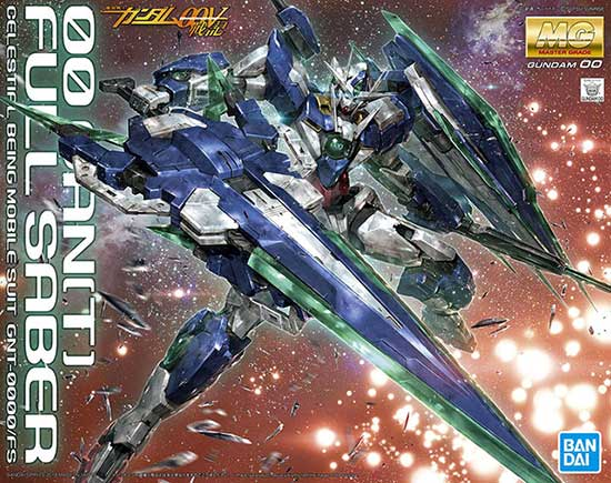 Bandai Master Grade 00 Qan[T] Full Saber English Color Guide & Paint Conversion Chart