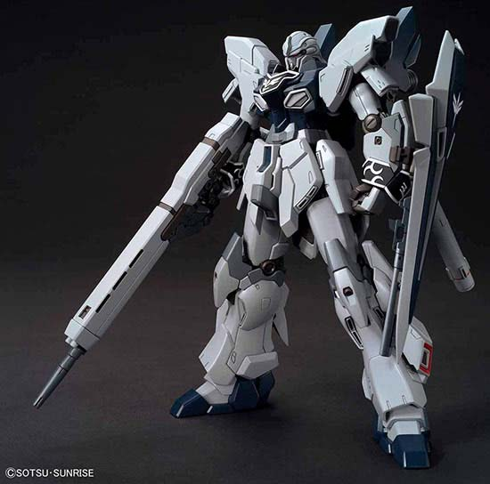 Bandai HG High Grade 1/144 HG HG MSN-06S-2 Sinanju Stein (Narrative Ver) English Color Guide & Paint Conversion Chart